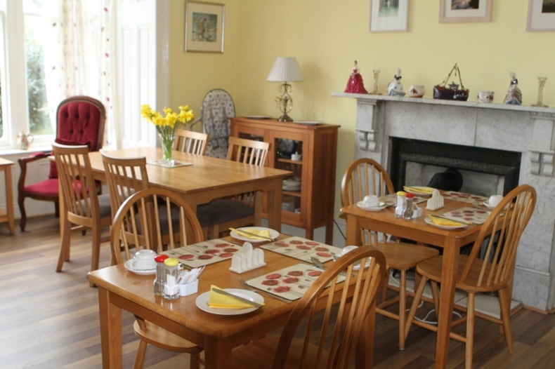Rosalie Guest House Breakfast Room